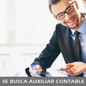 Se Busca Auxiliar Contable para Cancún